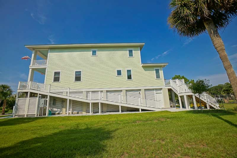 Fripp Home Side View