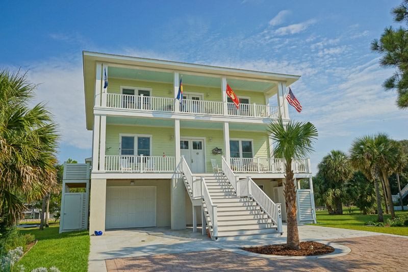 Fripp Island Two Story Home